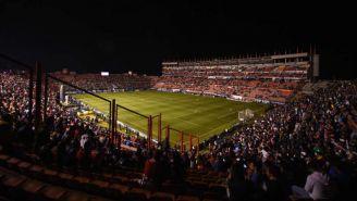 Estadio Alfonso Lastras, durante un duelo en el Clausura 2019