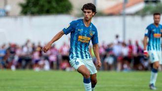 João Félix, en el juego entre Atlético de Madrid y Numancia
