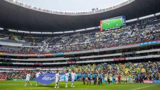 La ceremonia previo al América vs Monterrey