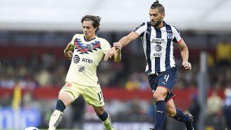 Córdova, el sábado pasado ante Monterrey en el Estadio Azteca