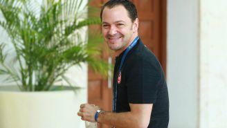 Santiago Baños, en la Reunión Anual del Futbol Mexicano 2019
