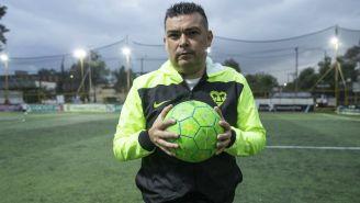 Guillermo Jiménez, administrador de la Liga Futbol 7 Retro Mixto