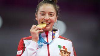 Daniel Souza, con medalla de oro en taekwondo