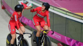 Daniela Gaxiola y Jessica Salazar al final de la competencia