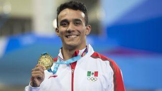 Juan Celaya presume su Oro en los Juegos Panamericanos de Lima 2019