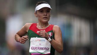 Ilse Guerrero durante la competencia en Juegos Panamericanos