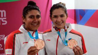 Yareli Salazar y Jessica Bonilla presumen su Bronce en Lima 2019