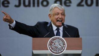 López Obrador, durante una conferencia de prensa