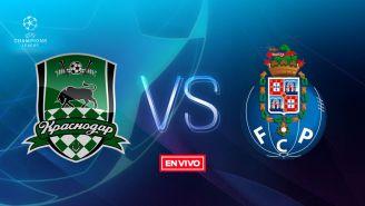 EN VIVO y EN DIRECTO: Krasnodar vs Porto