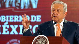 Andrés Manuel López Obrador, durante una conferencia