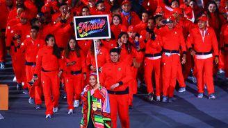 Delegación mexicana, en la inauguración de Lima 2019