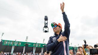 Sergio Pérez durante el Gran Premio de México el año pasado