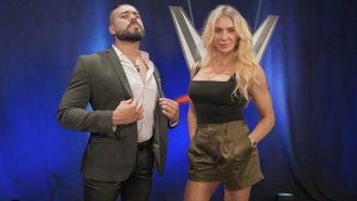 Andrade Cien Almas y Charlotte Flair, figuras del roster de WWE