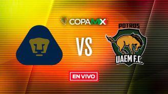EN VIVO y EN DIRECTO: Pumas vs Potros UAEM