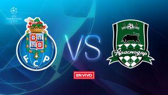 EN VIVO y EN DIRECTO: Porto vs Krasnodar