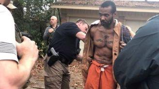 Momento en que Cedric Marks es arrestado