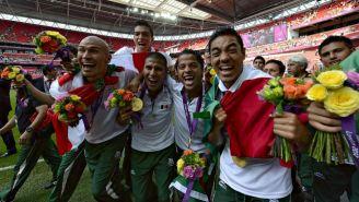 Jugadores del Tri ganadores de la medalla de Oro en Londres 2012