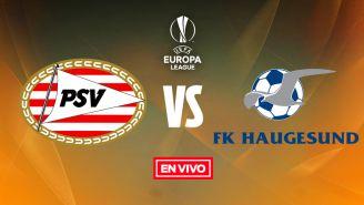 EN VIVO y EN DIRECTO: PSV Eindhoven vs FK Haugesund