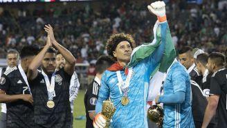 Guillermo Ochoa durante un juego de México