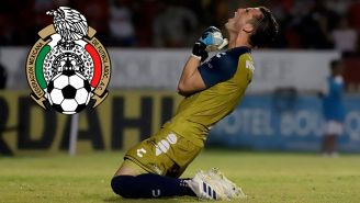 Sebastián Jurado festeja en juego de Veracruz