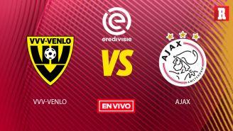 EN VIVO y EN DIRECTO: VVV-Venlo vs Ajax