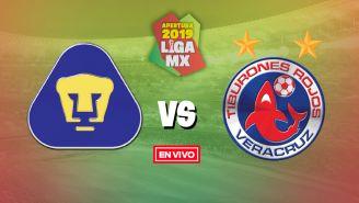 EN VIVO y EN DIRECTO: Pumas vs Veracruz