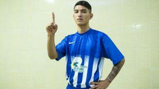 Geovani Fureht, jugador del Ayotla FC de la Liga Premier de Futsal de la Ciudad de México