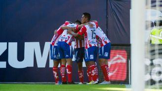 San Luis festeja anotación contra Tigres