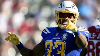 Derwin James, safety de los Chargers