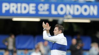 Frank Lampard ovacionado en Stamford Bridge así como en su época de jugador