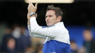 Frank Lampard durante un partido del Chelsea