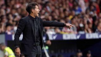 Diego Simeone dando indicaciones durante el partido ante Getafe