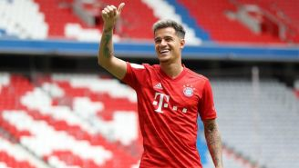 Philipe Coutinho conoce el Allianz Arena
