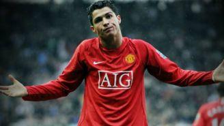 Cristiano se lamenta en juego del Manchester United