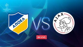 EN VIVO: APOEL vs Ajax