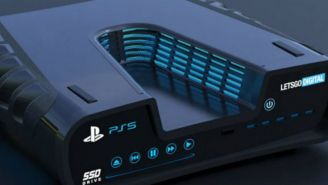 Posible modelo de la Play Station 5