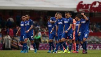 Jugadores de La Máquina se lamentan tras empate contra Puebla