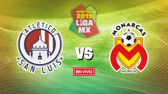 EN VIVO: Atlético de San Luis vs Morelia