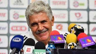 Ricardo Ferretti, técnico de Tigres, en conferencia de prensa