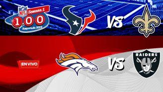 EN VIVO y EN DIRECTO: NFL Monday Night Football Semana 1
