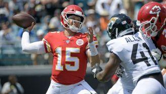 Mahomes, quarterback de los Kansas City Chiefs