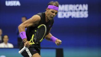 Rafael Nadal celebra triunfo en US Open