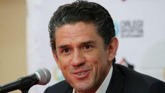 Alejandro Irarragorri,en conferencia de prensa