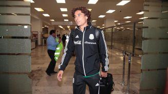 Guillermo Ochoa a su llegada a México
