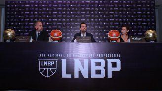Alonso Izaguirre, Sergio Ganem y Xóchitl Lagarda en conferencia