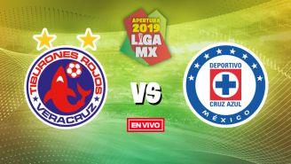 EN VIVO Y EN DIRECTO: Veracruz vs Cruz Azul