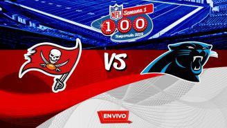 EN VIVO y EN DIRECTO: Tampa Bay Buccaneers vs Carolina Panthers