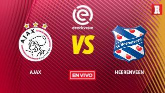 EN VIVO Y EN DIRECTO: Ajax vs Heerenveen