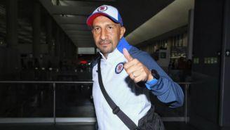 Óscar Pérez, previo a viajar con Cruz Azul a Las Vegas