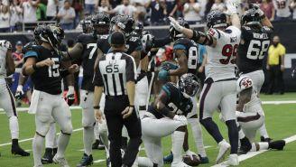 La defensa de Texans evita la conversión de Jaguars